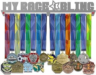 VICTORY HANGERS My Race Bling Medal Hanger Display Female