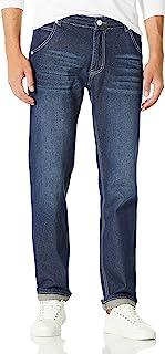 Demon&Hunter 806 Series Hombre Regular Corte Recto Pantalones Vaqueros DH8021(38)