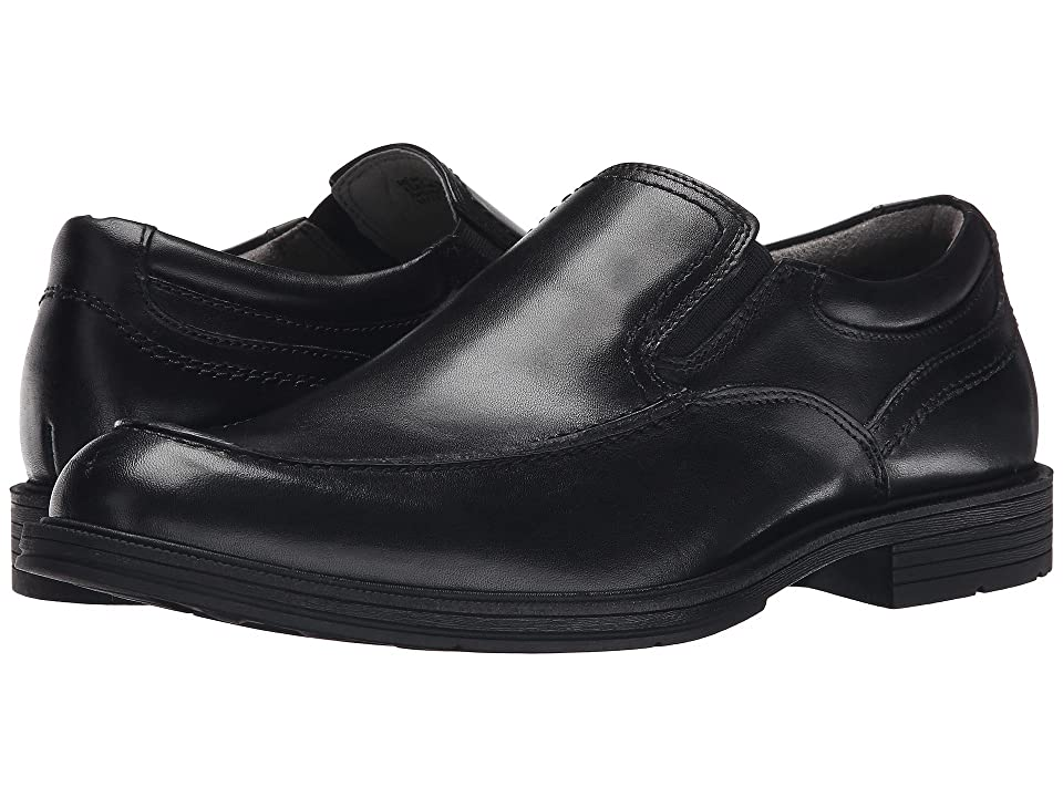 Florsheim Mogul Moc Toe Slip-On (Black Smooth) Men