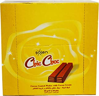 Solen Chic Choc Cocowafer, 24 X 20 gm