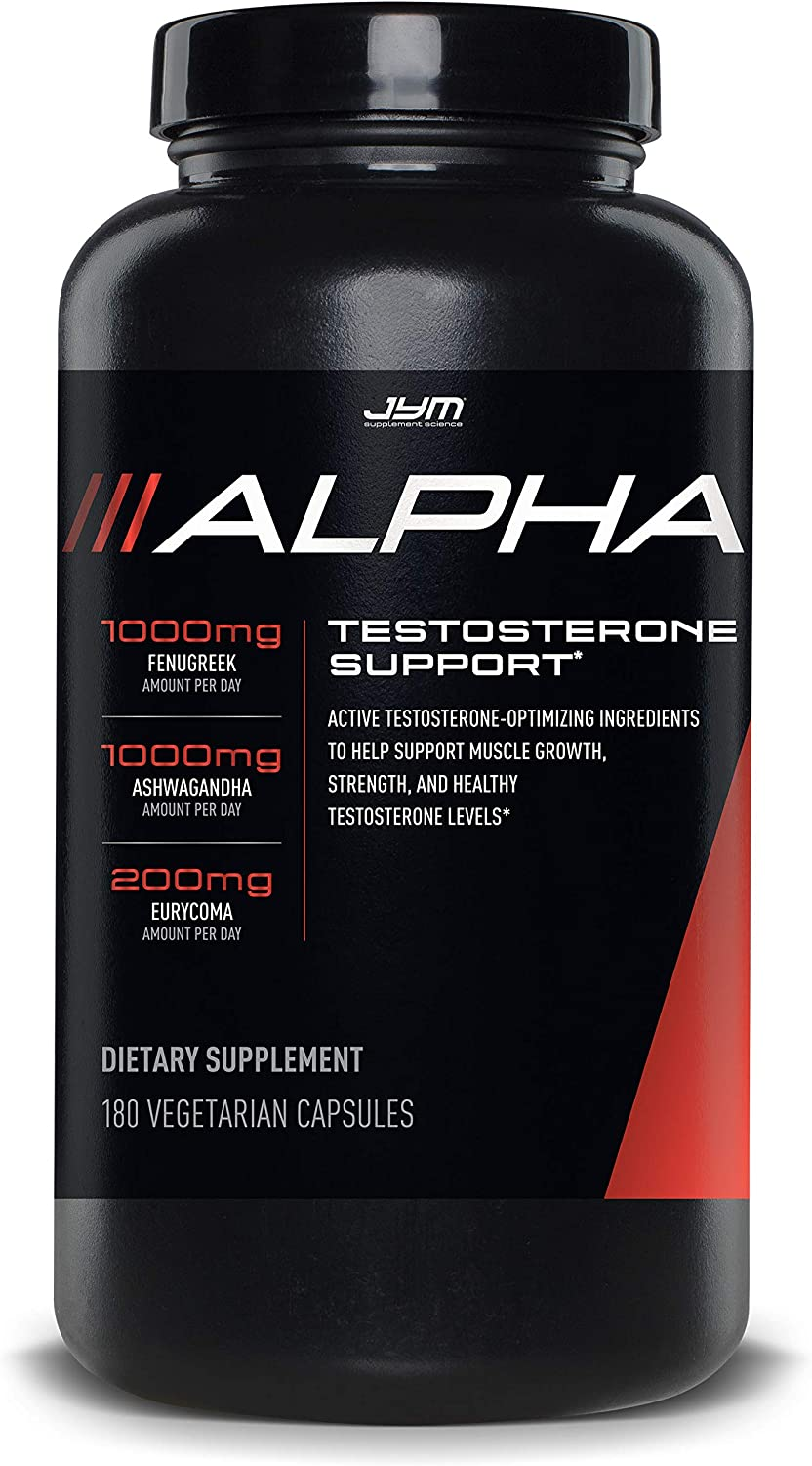JYM Supplement Science Testosterone - store Ashwagandha Booster Fenug 2021 autumn and winter new