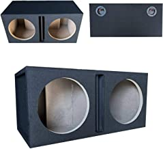 $114 » Sponsored Ad - 1x Audiotek CA-12DP Car Audio Double 12-Inch Vented Speaker Box Enclosure Carpet Texture Terminal Cups Made...