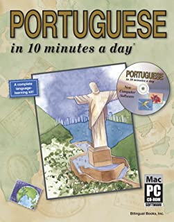 PORTUGUESE in 10 minutes a day® with CD-ROM
