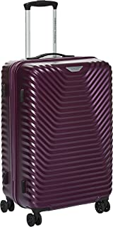 American Tourister SkyCove Hardside Spinner Luggage 68cm with tsa lock - Purple