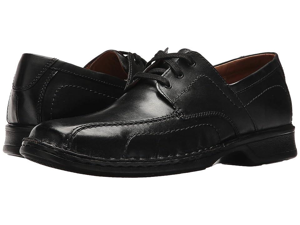 Clarks Northam Edge (Black Leather) Men
