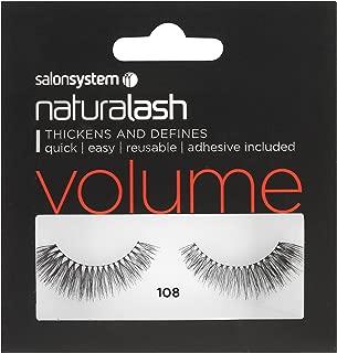 Salon System Naturalash 108 Black Volume
