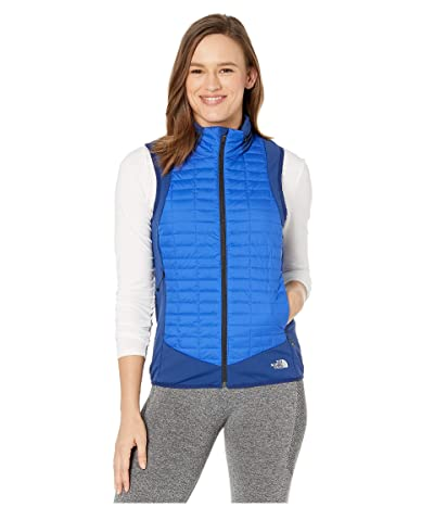 The North Face Thermoball Hybrid Vest (Flag Blue/TNF Blue) Women