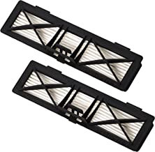 Neato Robotics 945-0215 HEPA Air Filter for Vacuum Cleaner-2 Pack, Black