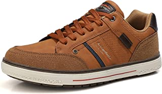 ARRIGO BELLO Freizeitschuhe Herren Sneaker Schuhe Walkingschuhe Wanderschuhe Skateboard Leder Fitness Laufschuhe Outdoor A...