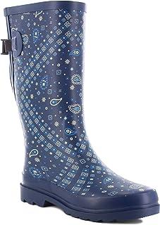 Women's Wide Calf Waterproof Rain Boot
