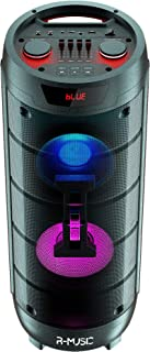 R-Music - RM311685 - Booster XL - High Power - Enceinte sans Fil 1000W avec Effet Lumineux - Son 360 - Fonctionne sur Batt...