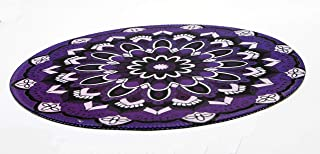 Margoun Vintage Circular Rug Mousepad with Traditional Design , Mouse pad for Microsoft mouse - Pattern 2