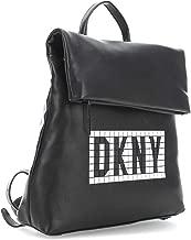 DKNY Tilly Tile Small Backpack Black White