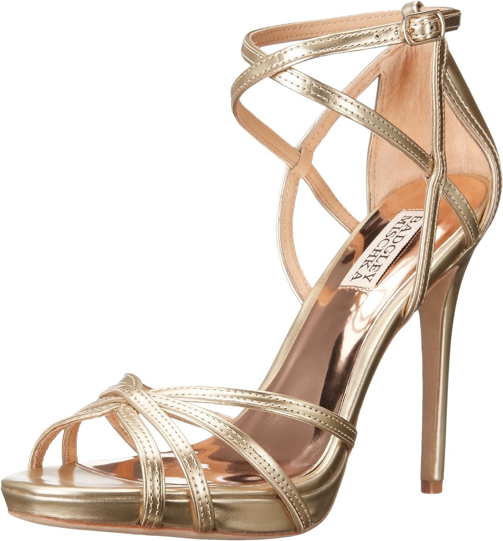 Badgley Mischka Womens Leon Dress Sandal