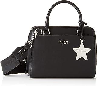 c08f490cf0 Trussardi Jeans T-Easy Bauletto Chram Star Logo, Borsa a mano Donna,  25x19x15