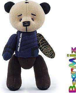 f71869436c22 Bucky Winter Soldier Infinity War bear - marvel superhero movie comic plush  toy avengers bucky barnes