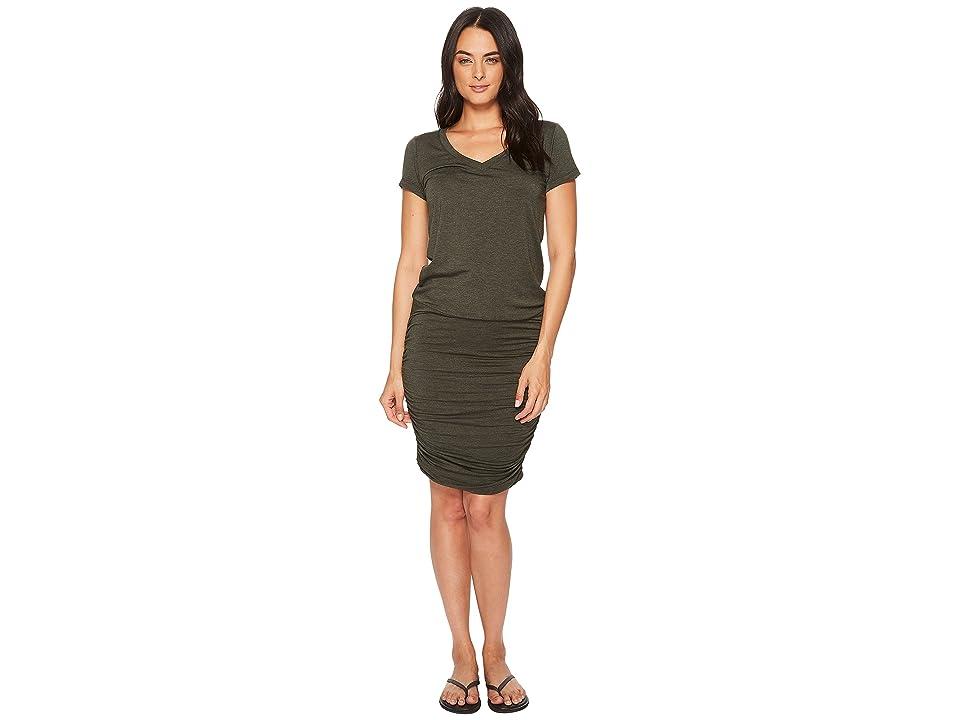 Prana Foundation Dress (Forest Green Heather) Women