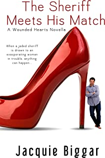 The Sheriff Meets His Match: Wounded Hearts- Book 4