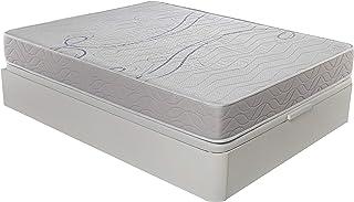 ROYAL SLEEP Colchón viscoelástico 135x190 firmeza Media, adaptabilidad y Calidad Alta, Altura 21m - Colchones Xfresh Premium
