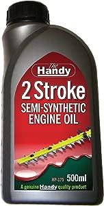 The Handy HP-175 Stroke Semi-Synthetic Oil 500ml  Grey