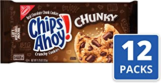 CHIPS AHOY! Chunky Chocolate Chip Cookies, 12 Packs (11.75 oz.)