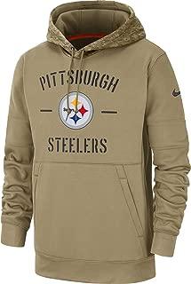 Pittsburgh Steelers 2019 Men's NFL Salute to Service Tan Hoody
