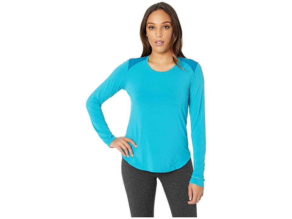 Columbia Saturday Trailtm Knit Long Sleeve Shirt (Modern Turquoise/Siberia) Women