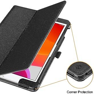 Fintie Folio Case for New iPad 8th Gen (2020) / 7th Generation (2019) 10.2 Inch - [Corner Protection] Premium Vegan L...