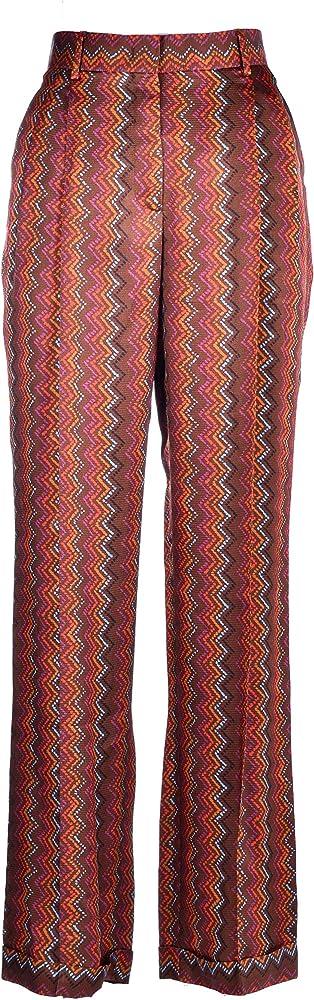 M missoni pantalone gamba larga per donna,in 100% viscosa 2DI002262W0067S806R