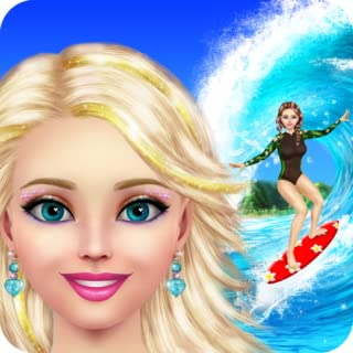 Surfer Girl Makeup and Dress Up - Full Version