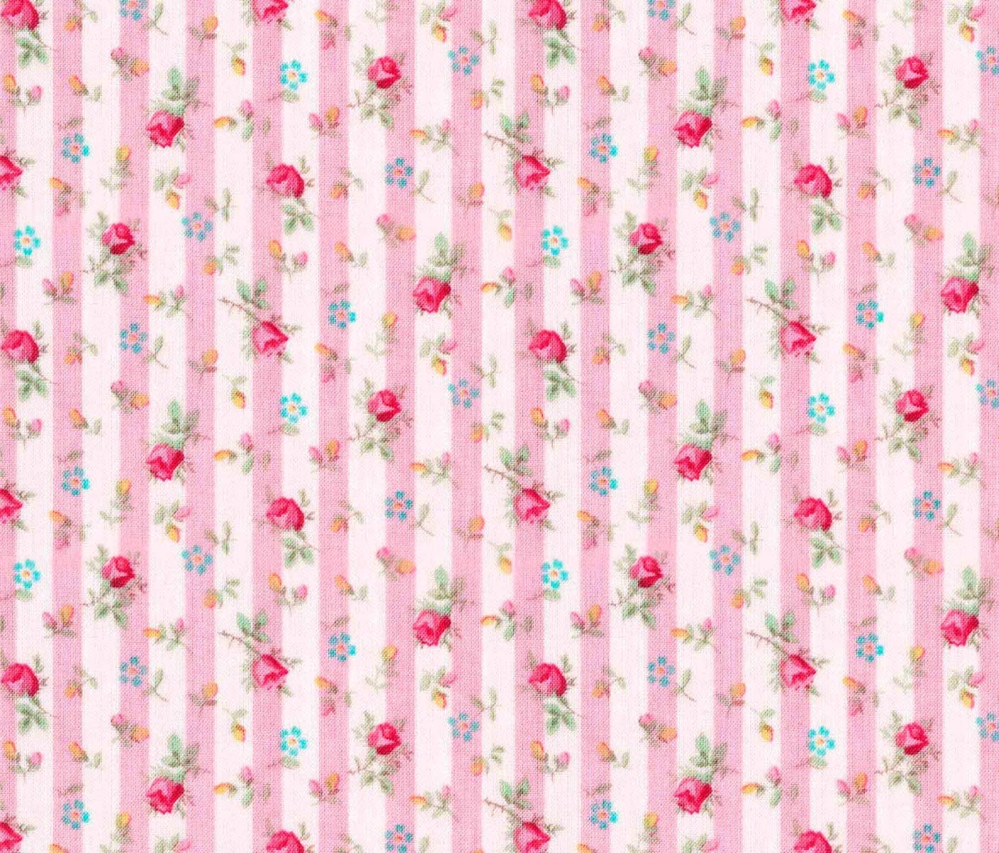 Bohemia Posies Teal  100/% cotton Fabric by the yard 36x43 Floral Fabric C52