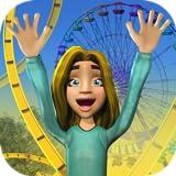juego del reino del parque temático: parque de atracciones divertido montaña rusa gratuita, toboganes de agua extremos y mundo de safari, simulador de parque de animales y lleno de juegos de aventuras