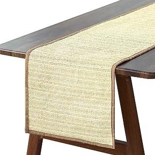 MIDAS Macram\u00e9 TableThick Fringe Boho Hippe Retro 70s Collection Jute Xtra Large Long Jute Bohemian Mid Century Modern Decor