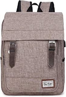 Shhshop Working Men and Women Casual Computer Backpack Travel Backpack Student Backpack Waterproof Outdoor Travel with USB...