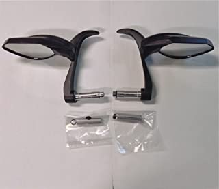 Folding Bar End Mirrors with Lever Guard 7490/91 Pair