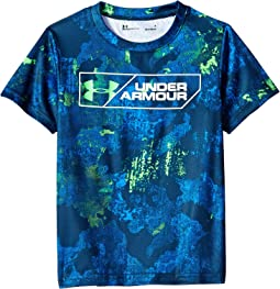 Bedrock Camo Boxed UA Short Sleeve (Little Kids/Big Kids)
