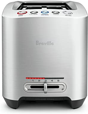 Breville Smart Toaster, Brushed Stainless Steel BTA830BSS