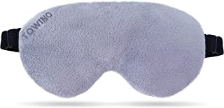 TOWINO® Eye Mask for Sleep Eye Mask Super Smooth And Adjustable Strap- Super Soft & Comfortable for Women and Men, Blindfo...