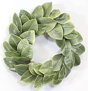 Silvercloud Trading Co. [New] All Leaf Magnolia Wreath - 20