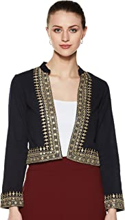 Akkriti By Pantaloons Women's Regular_fit Jacket
