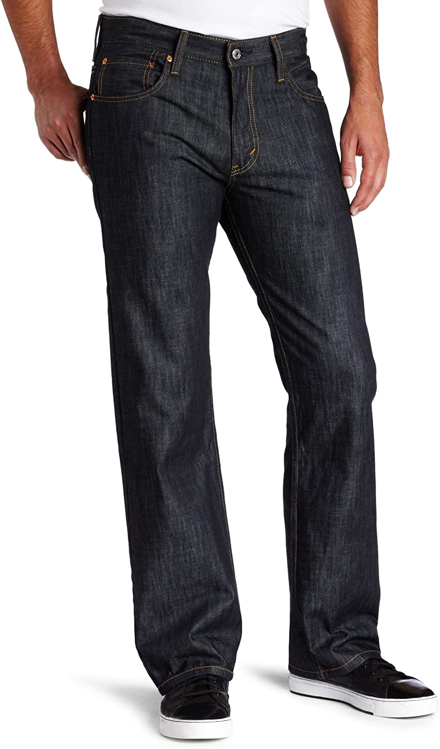 Levi's Men's 569 Tulsa Manufacturer regenerated product Mall Loose Fit Straight Jean