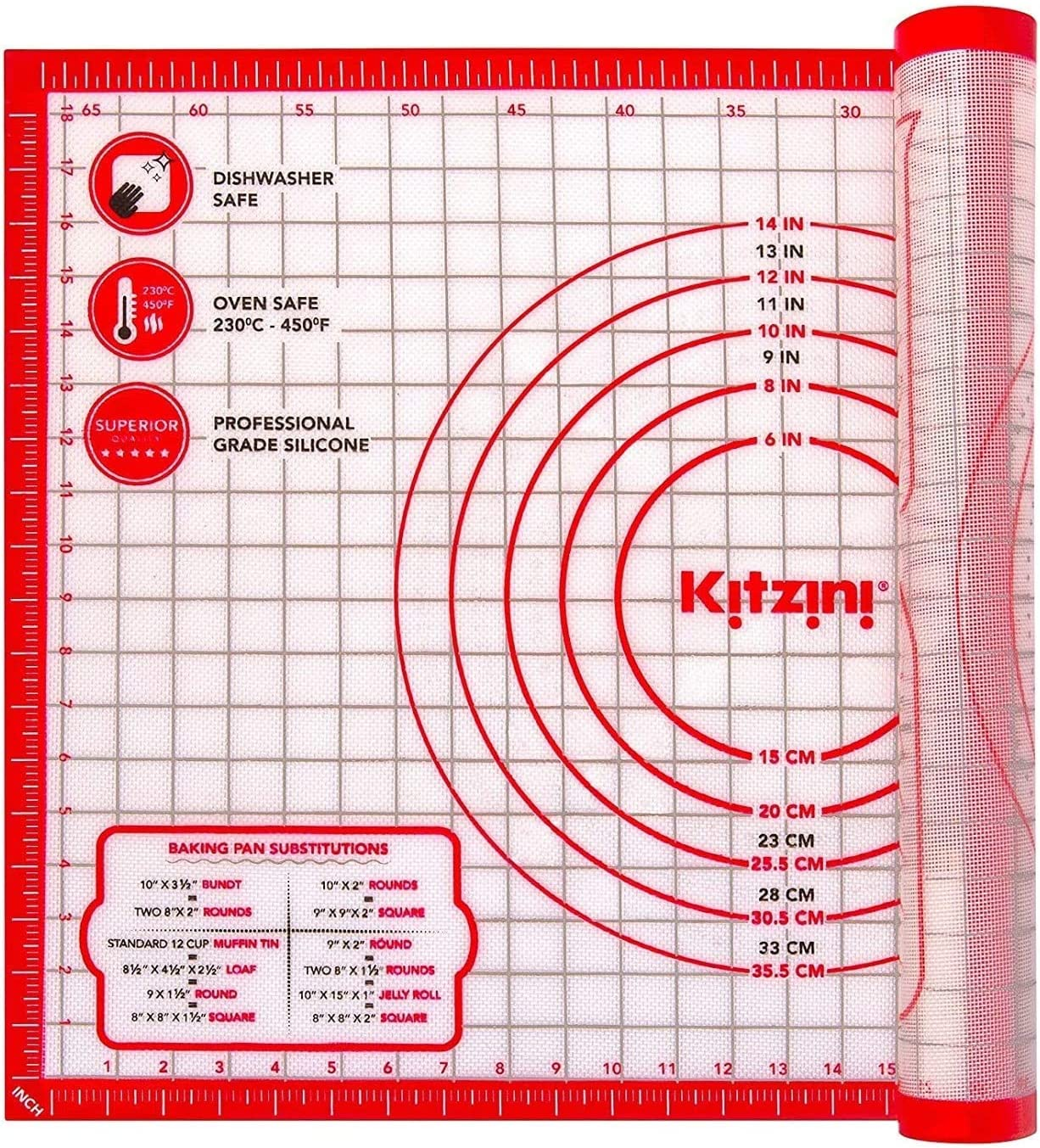 Pastry Mat Silicone Non Slip Great interest – 20