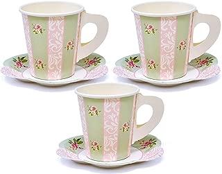 24 Disposable Tea Party Cups 5 oz 3