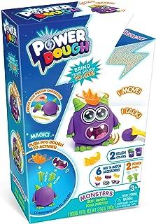 CANAL TOYS Power Dough Monsters Small Box Interactive Dough (11 Piece)