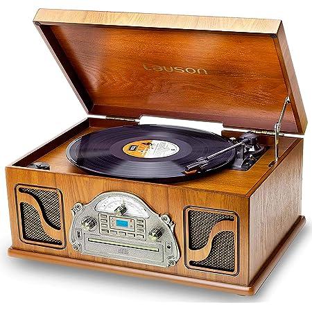 Nostalgie Plattenspieler Mit Lautsprecher Musikanlage Elektronik