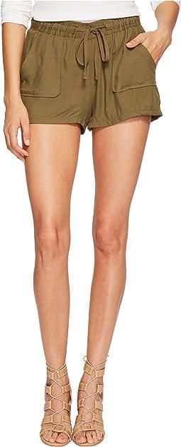 Marianna Rayon Twill Shorts