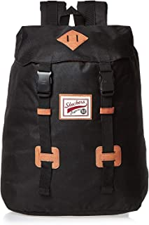 Skechers Unisex Drawstring Backpack, Black - S403-6