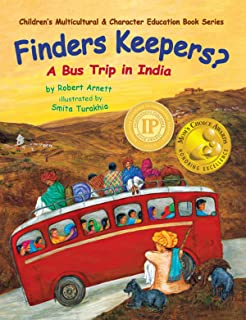 Finders Keepers?: A Bus Trip in India (Children's Multicultural & Character Education Book Series 1) (English Edition)