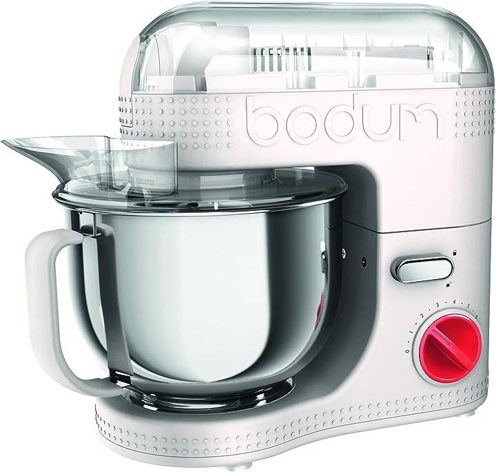 Robot da cucina elettrico bianco 4,7 l 700 w bodum bistro B075S7NBF1