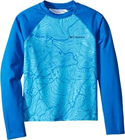Columbia Kids Mini Breaker Printed Long Sleeve Sunguard (Little Kids/Big Kids)